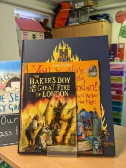 We have been learning all about The Great Fire of London