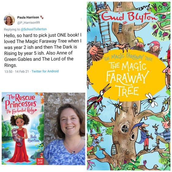 Paula Harrison is an author of amazing books like The Rescue Princesses