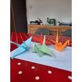 Thomas' Origami Crane's