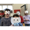 Great masks in the hub.