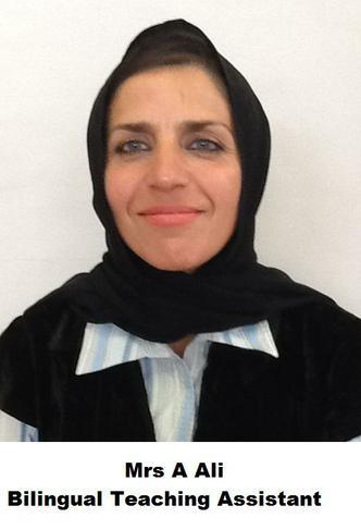 A Ali, Bilingual Teaching Assistant