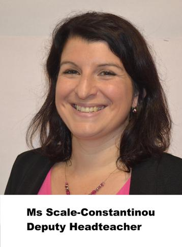 V Scale-Constantinou, Deputy Headteacher, ALNCo