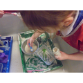 Our own explorations with flour and water