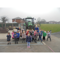 Thank you Mr Ashworth for bringing your tractor