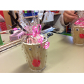 Year 1's Reindeer Sweet Cups make a perfect gift!