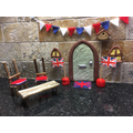 All ready for VE Day celebrations.