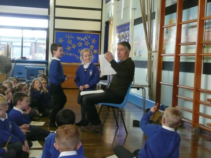 Izzy and Spencer's poems were chosen by Andy.