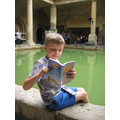 Reading at the Roman Baths