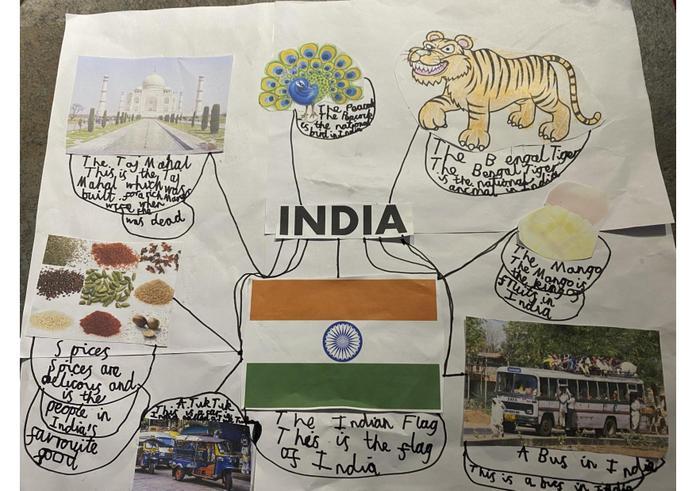 Brilliant facts about India, Mia!