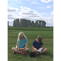 Reading at Stonehenge