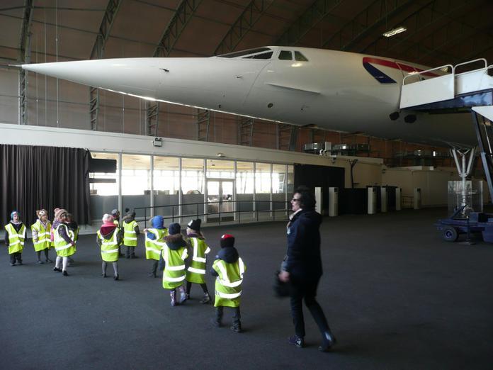 Visiting Concorde