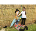 Look at our amazing scarecrows!