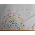 Rainbow in Spanish