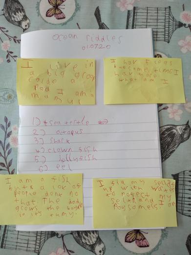 Emily's very tricky riddles!