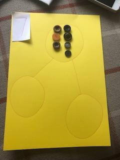 Lay your counters out in a numicon style
