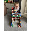 A lego mansion