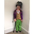 Dressing up as Willy Wonka