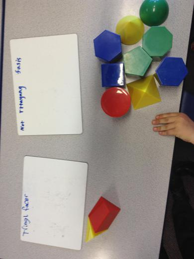 Can you spot the shape in the wrong group?
