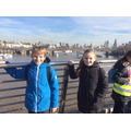 Crossing the River Thames at the Embankment