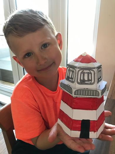 Cool lighthouse model.