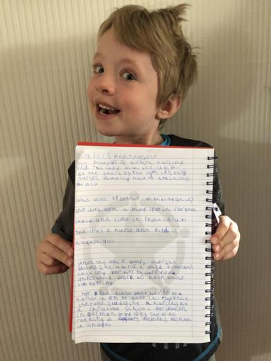 Super report writing, Oliver!