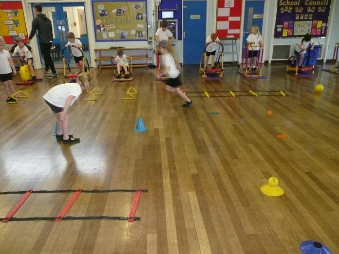 'Gym Stars' with Morecambe FC