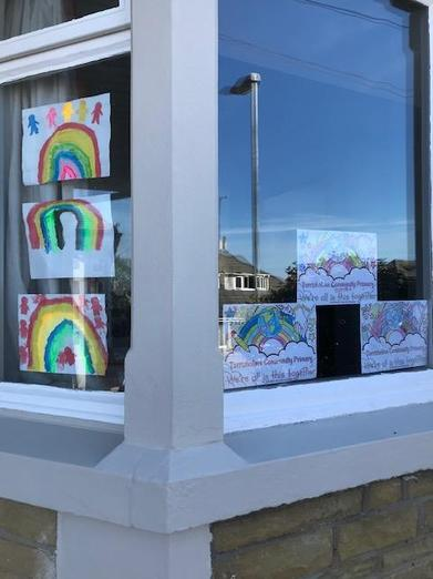 Look at Joseph's colourful window!