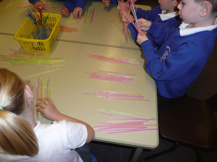 Counting lots of straws!