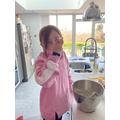 Connie baking