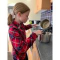 Elinor baking