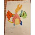 Matthew's pokemon character
