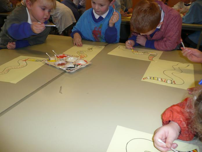 We learnt about Aboriginal art.