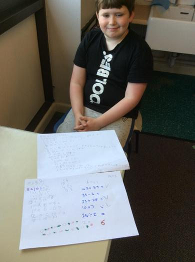 Super spellings and great maths work!