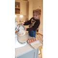 Chef Amira in the Kitchen