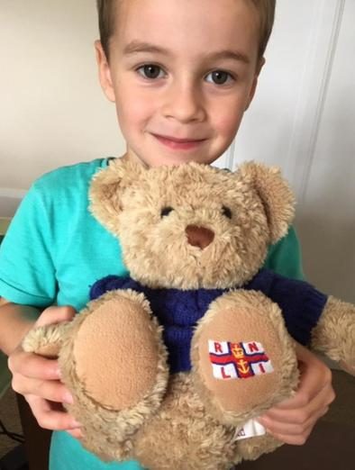 Harry's special RNLI bear �