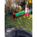 Ella & Harry's obstacle course!