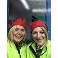 Miss Stalker & Mrs Price's 'elfie before training!
