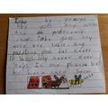 Excellent poem in response to Mrs Jones' challenge