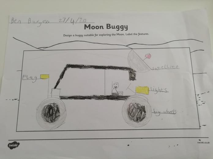Ben's plan for a great moon buggy!
