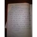 Albert's Florence Nightingale writing
