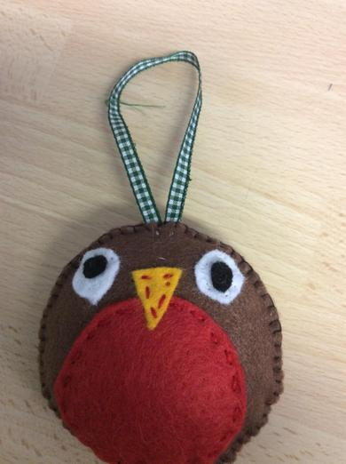 Cheeky robin