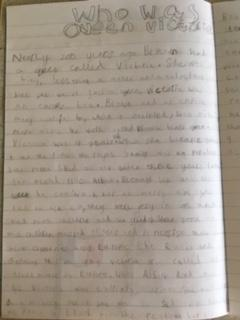 Evelyn has been researching Queen Victoria.