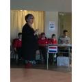 Listening to an MEP, Julie Ward.