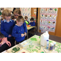 Year 2 create sparkling decorations!