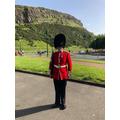 Edinburgh - Outside Holyrood Palace