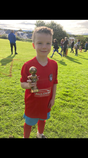 Man of The Match and Top Goal Scorer for this skilful player.