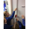 Investigating the corners of walls!