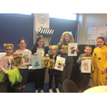 Our colouring competition winners!