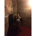 Reading at Peckforton Castle, Cheshire