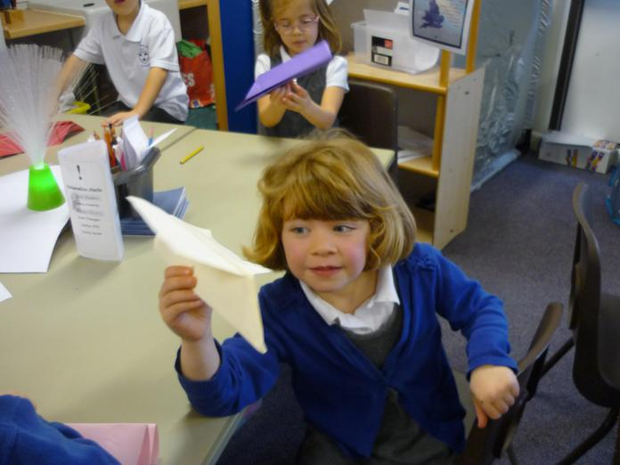 7. Your space rocket is ready to fly!